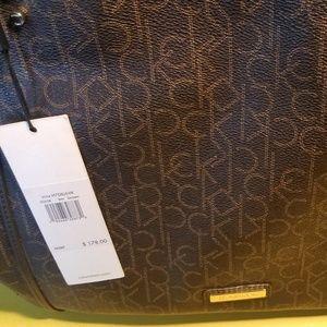 Calvin Klein brown purse